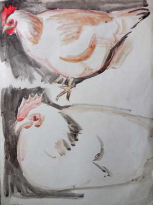 Stas Volostnych. Chickens