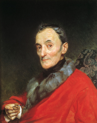 Karl Pavlovich Bryullov. Portrait Of Michelangelo Lunches