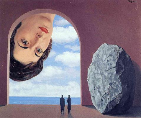 René Magritte. Portrait Of STEFI Langueux