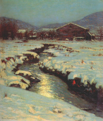 Кервуд Харрисон. Луга зимой