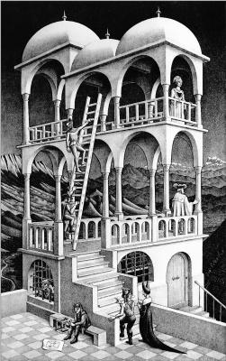Maurits Cornelis Escher. Gazebo