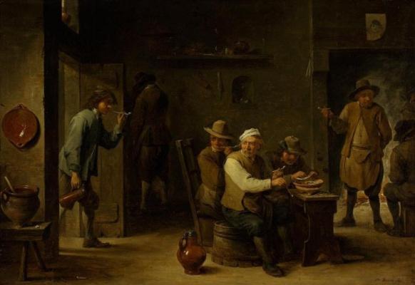 David Teniers the Younger. Zucchini (Smokers)