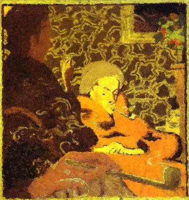 Pierre Bonnard. Portrait of Monsieur and Madame Claude