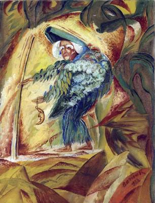 Давид Давидович Бурлюк. Пятидесятитысячелетняя женщина на Марсе