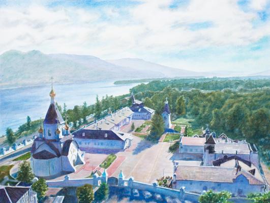 Виктор Михайлович Бородин. Assumption Monastery