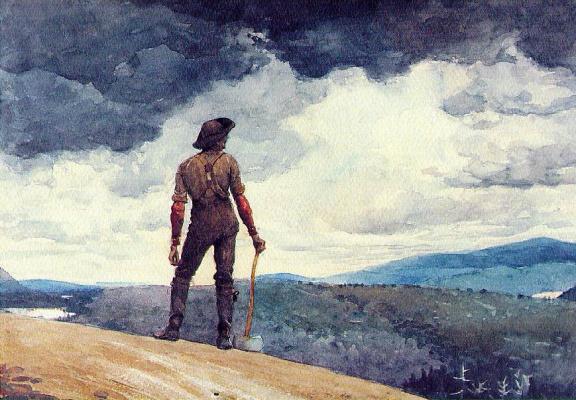 Winslow Homer. Lumberjack
