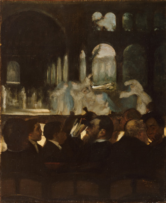 "Edgar Degas. The ballet scene from Meyerbeer's Opera ""Robert the devil"""