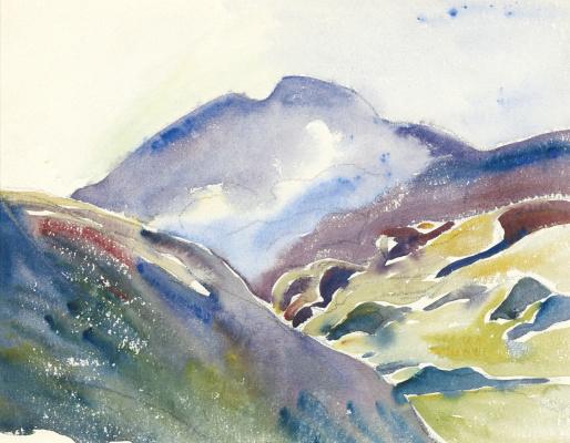 Giovanni Giacometti. Mountain landscape