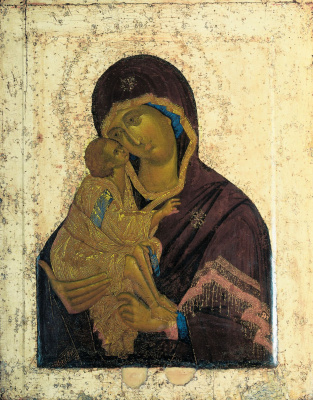 Theophanes Greek. Donskaya icon of the Mother of God