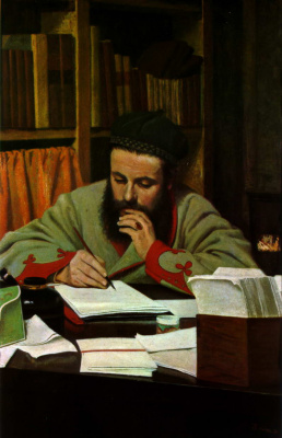Federico Zandomenegi. Portrait Of Diego Martelli
