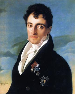 Jean Auguste Dominique Ingres. Baron Joseph-Pierre Vialet de Mortare