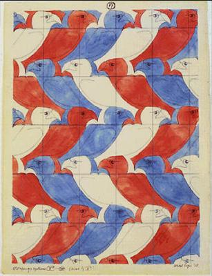 Maurits Cornelis Escher. Eagle (№ 17)