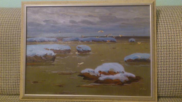 Николай Павлович Лой. Начало зимы в Карском море