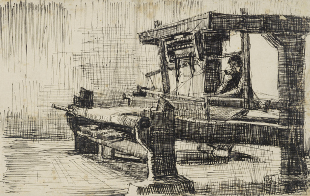 Винсент Ван Гог. Ткач, обращенный налево