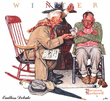 Norman Rockwell. The endless debate
