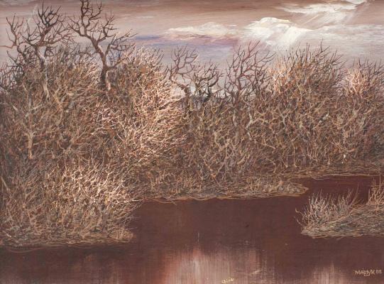 Иван Степанович Марчук. Перед дождем. 1983