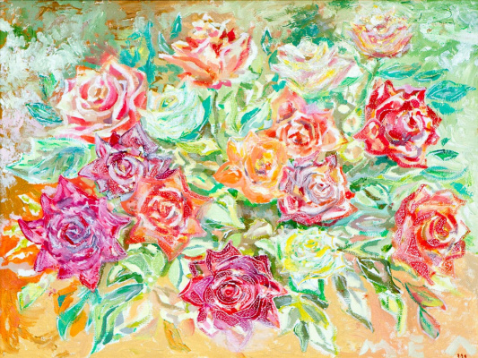 Евгений Морозов. Spiritual Summer Roses
