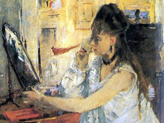 Berthe Morisot. Puredata young woman