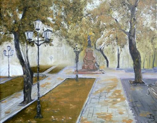 Сергей Николаевич Ходоренко-Затонский. Voronezh. Petrovsky Square