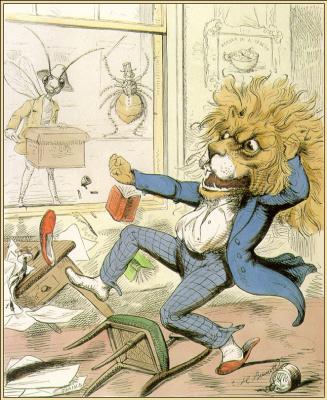 Чарльз Беннетт. Лев и комар