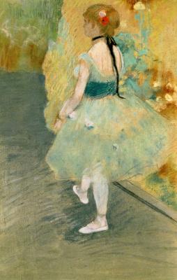 Эдгар Дега. Балерина в зеленом