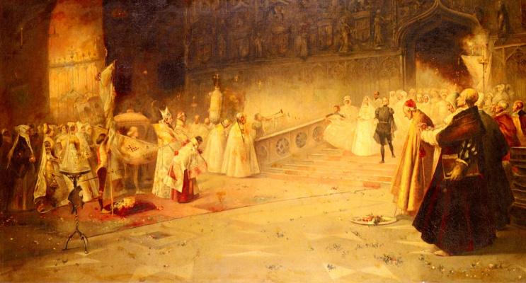 Сальвадор Санчес Барбудо. Королевская свадьба
