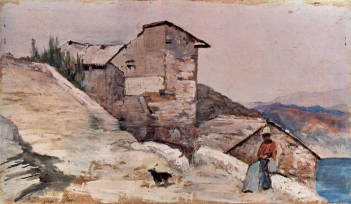 Giovanni Fattori. Hamlet, lost among the hills