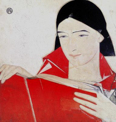 Fedor Grigorievich Krichevsky. Komsomolka