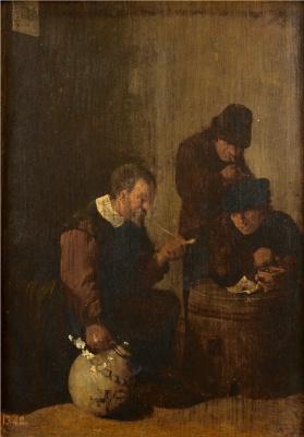 David Teniers the Younger. Курильщики в таверне