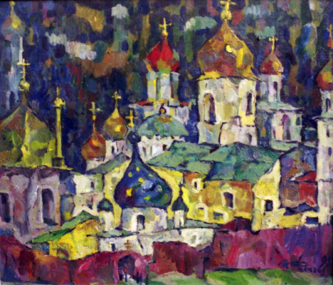 Ivan Ivanovich Filichev. Monastery. Kiev-Pechersk Lavra
