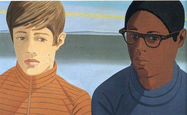 Alex Katz. Vincent and Tony