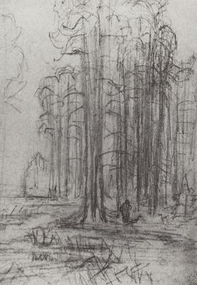 Arkhip Ivanovich Kuindzhi. Forest landscape
