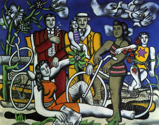 Fernand Leger. Vacationers