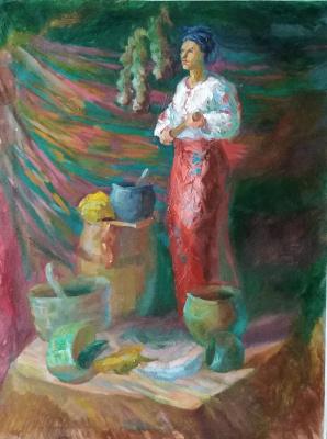 Виолетта Водяная. Українська жінка зустрічає чоловіка