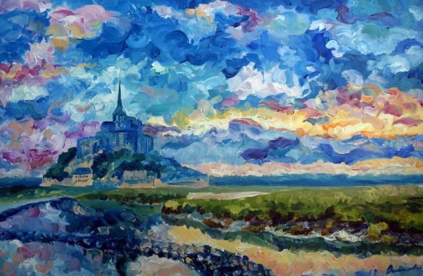 Ekaterina Viktorovna Osipovich. Mont Saint Michel