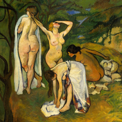 Suzanne Valadon. The joy of life (fragment)