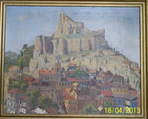 Р.И.  Стуруа. Старый Тбилиси