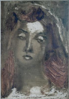 Rostislav Nikolaevich Barto. Female portrait