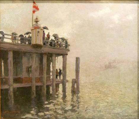 Nikolay Dosekin. The Thames Estuary