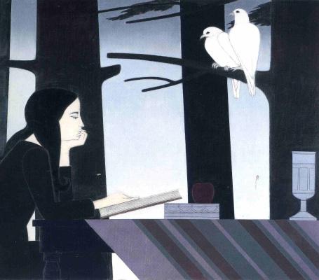 Уилл Барнет. Белые птицы