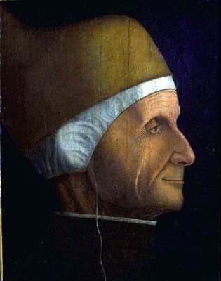 Gentile Bellini. Profile