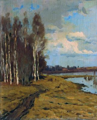 Isaac Levitan. Landscape