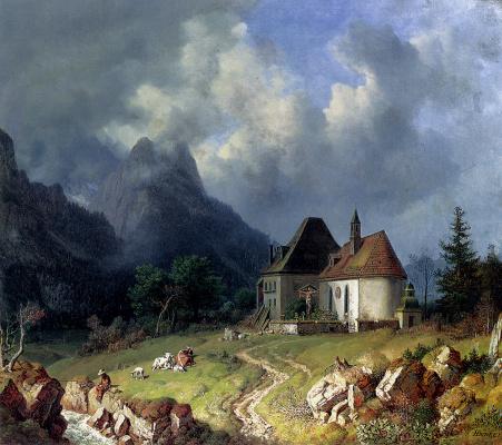 Генрих Буркел. Церковь