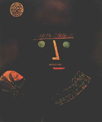 Paul Klee. The black knight