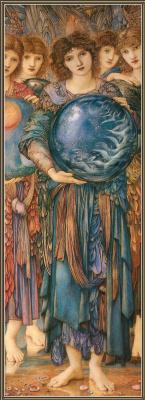 Edward Coley Burne-Jones. Days of Creation: Fifth Day