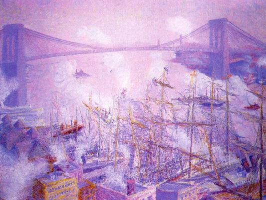 Тед Батлер. Большой мост