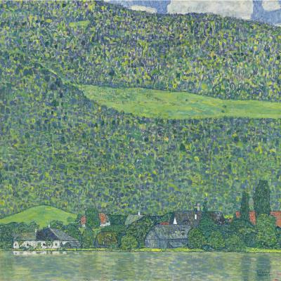 Gustav Klimt. City Litzlberg on lake Attersee