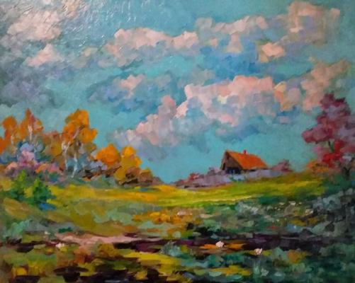 Valentin Nikolaevich Sudnitsyn. Country landscape