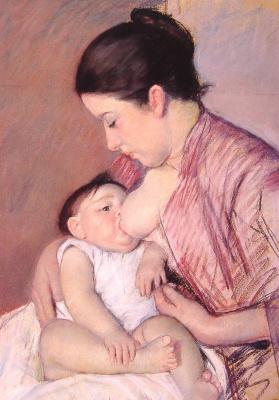 Mary Cassatt. Motherhood