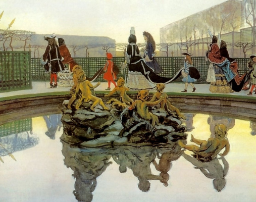 Alexandre Benois. The walk of a king